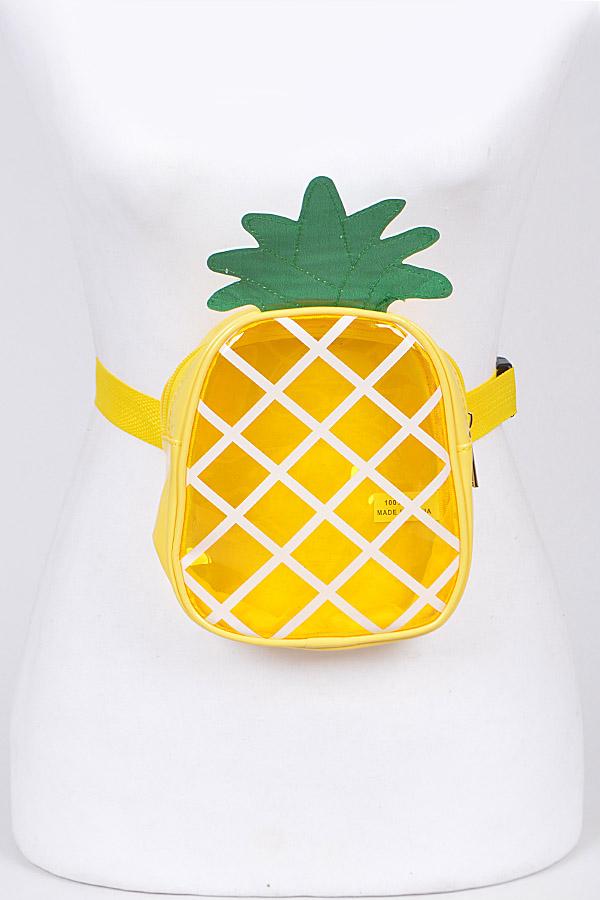 Pineapple Adjustable Fanny Pack - orangeshine.com