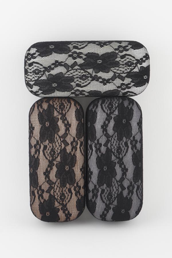 Lace Fabric Sunglasses Case - orangeshine.com