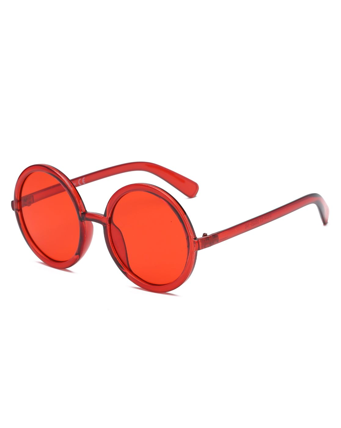 Round Oversize Fashion Sunglasses - orangeshine.com