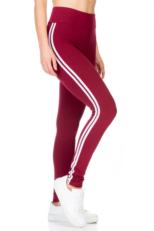 Solid Stripe Legging - orangeshine.com