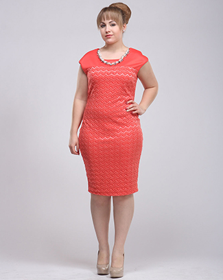 NECKLACE BODY CON DRESS - orangeshine.com