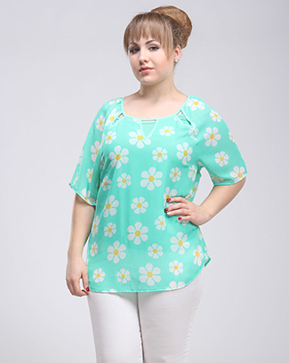 DAINTY FLOWERS TOP - orangeshine.com
