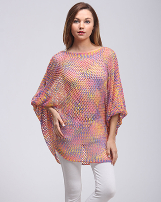 MULTI KNIT TOP - orangeshine.com