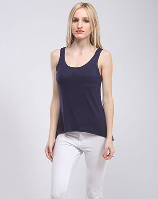 A-LINE HI LOW TANK TOP - orangeshine.com