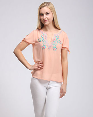EMBROIDERY TOP - orangeshine.com