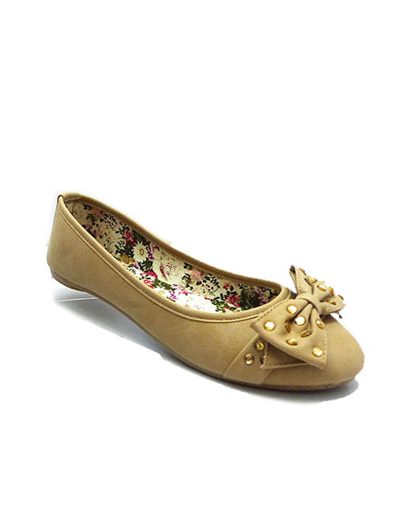 JEWELED BOW FLATS - orangeshine.com
