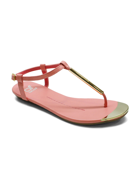 TOE THONG SANDAL WITH ANKLE STRAP - orangeshine.com