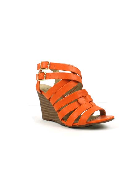 STRAPPY WEDGE - orangeshine.com