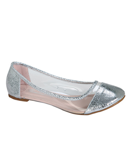 SEE THROUGH BALLERINA FLATS - orangeshine.com