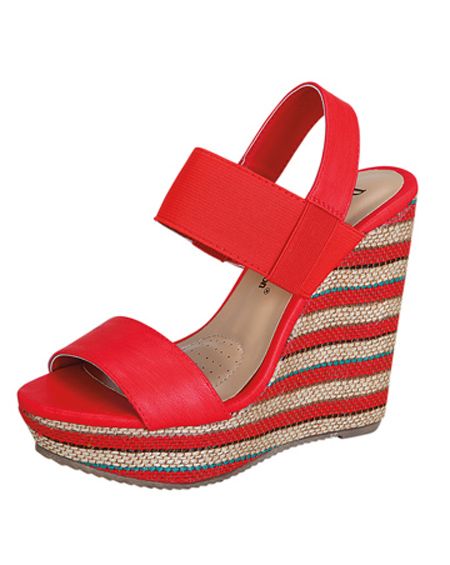 STRAPPY WEDGE HEEL - orangeshine.com