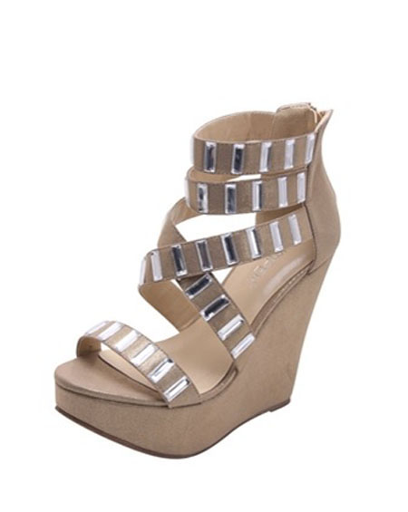 STRAPPY WEDGE PLATFORM HEEL - orangeshine.com
