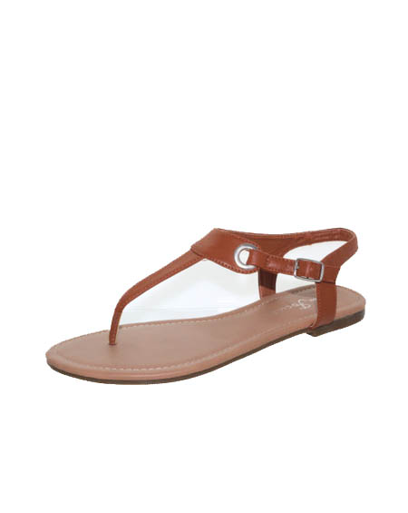 TOE THONG ANKLE STRAP SANDALS - orangeshine.com