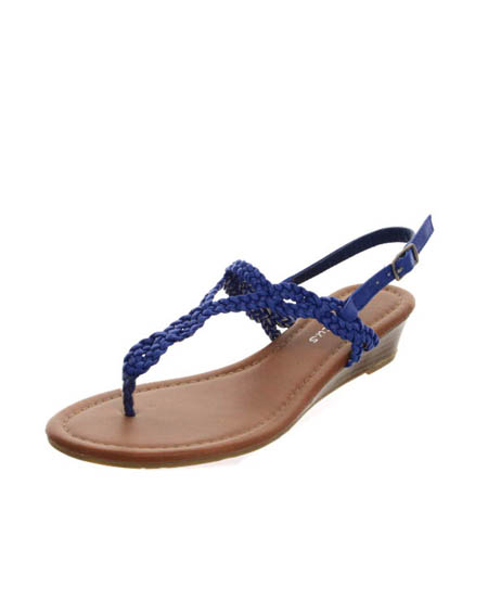 TOE THONG ELEVATED BACK SANDALS - orangeshine.com