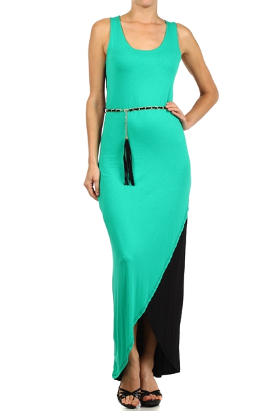 Color block maxi - orangeshine.com