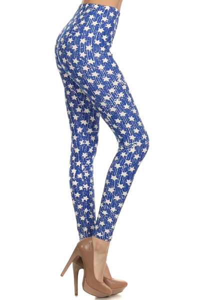 STAR PRINT LEGGINGS - orangeshine.com