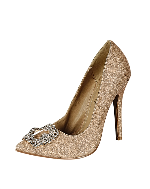 BEJEWELED HIGH HEEL - orangeshine.com