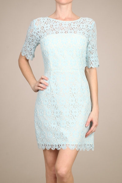 LACE DRESS  100 POLY - orangeshine.com