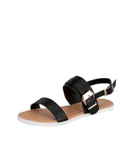 SANDAL WITH STRAPS - orangeshine.com