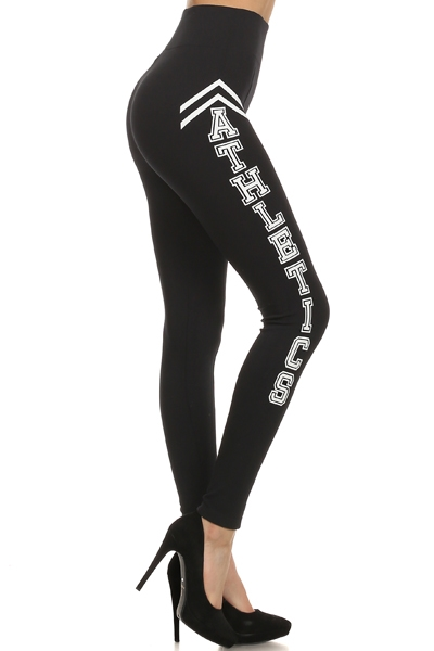 HIGH WAIST LEGGINGS-ATHLETICS - orangeshine.com