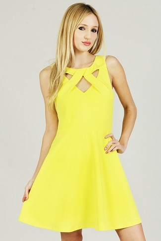 LOVELY SUNNY DRESS - orangeshine.com