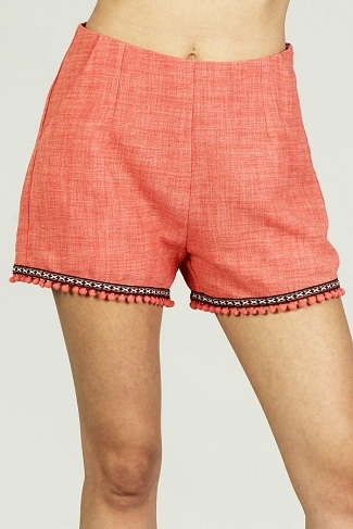 CUTE HIGH WAISTED SHORTS - orangeshine.com