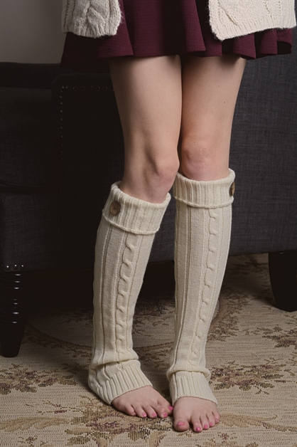 LEGWARMER WITH BUTTON - orangeshine.com