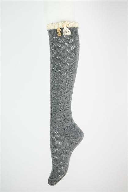 LACE THIGH HIGH BOOT SOCKS - orangeshine.com