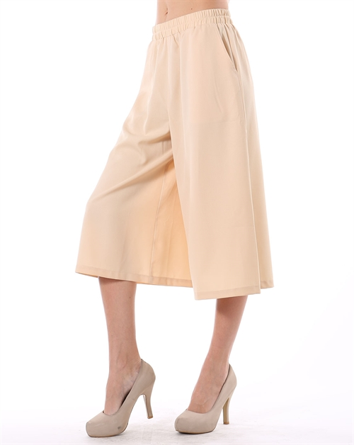 Culottes with Pockets - orangeshine.com