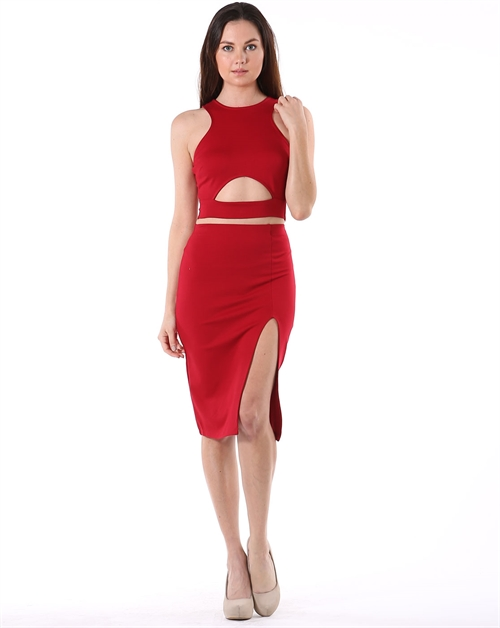 RNP CROP TOP AND SKIRT SET - orangeshine.com