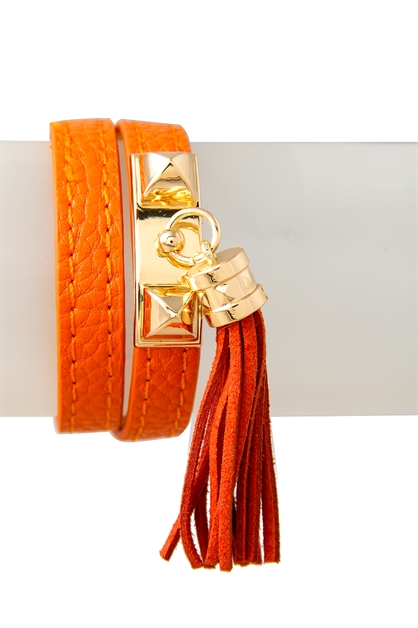 Double Pyramid Tassle Design W - orangeshine.com