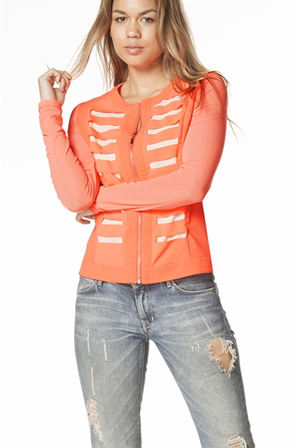 Two Tone Jacket - orangeshine.com