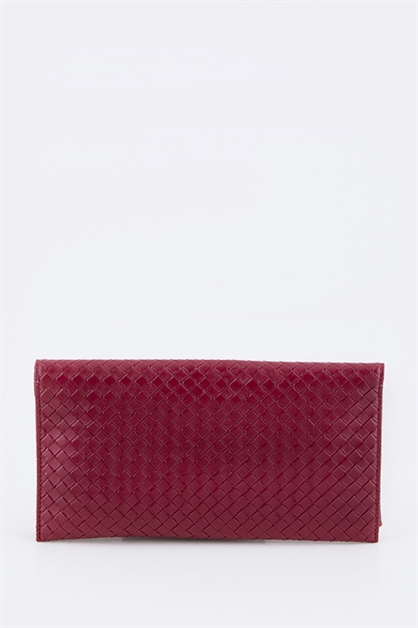Leather Envelope Clutch - orangeshine.com