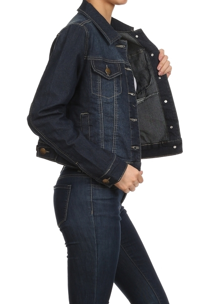 DENIM JACKET - orangeshine.com