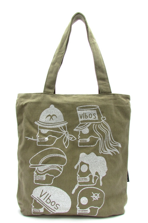 Canvas School Tote Bag - orangeshine.com