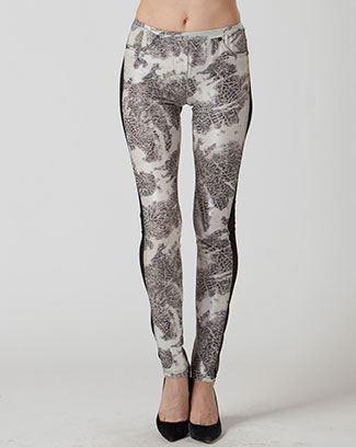 PRINT MESH LEGGINGS - orangeshine.com