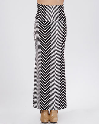 LONG ARROW SKIRT - orangeshine.com