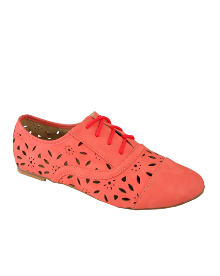 CUT OUT LACED OXFORDS - orangeshine.com