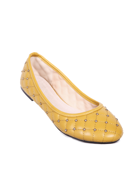 JEWELED BALLERINA FLATS - orangeshine.com