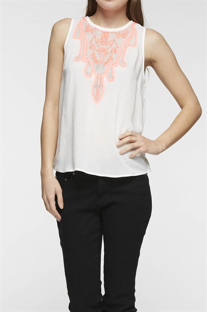 SLEEVELESS TOP - orangeshine.com