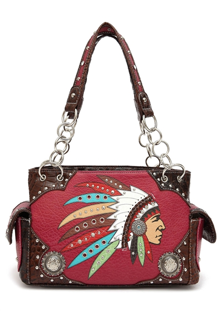 NATIVE CHIEF SHOULDER BAG - orangeshine.com