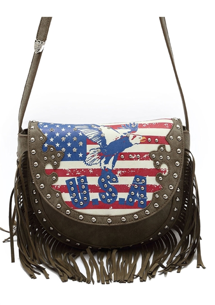USA FLAG AND EAGLE MESSENGER - orangeshine.com