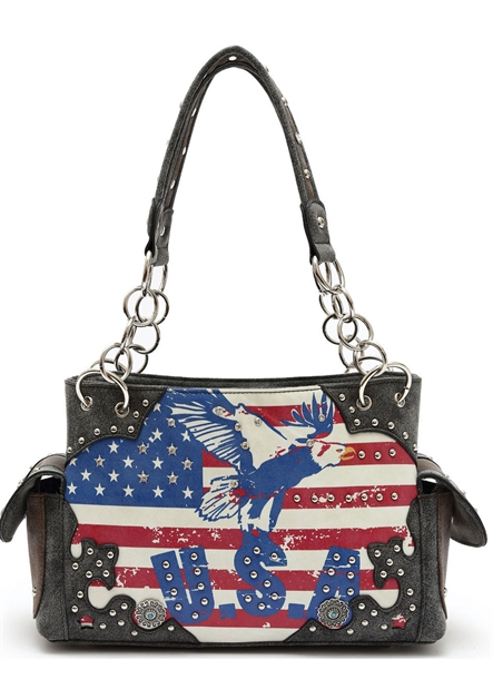 USA FLAG N EAGLE SHOULDER BAG - orangeshine.com