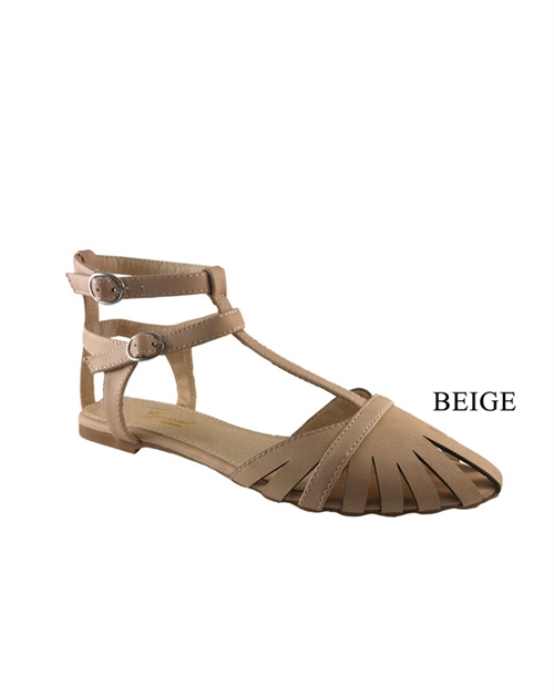 SANDAL WITH ANKLE STRAP - orangeshine.com