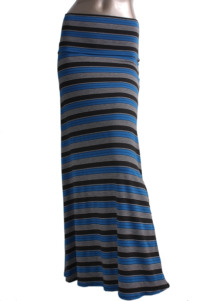 Maxi Skirt Stripe - orangeshine.com
