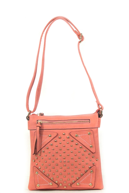 Studs messenger bag - orangeshine.com