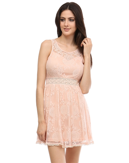 -Romantic Sexy Lace Dress - orangeshine.com