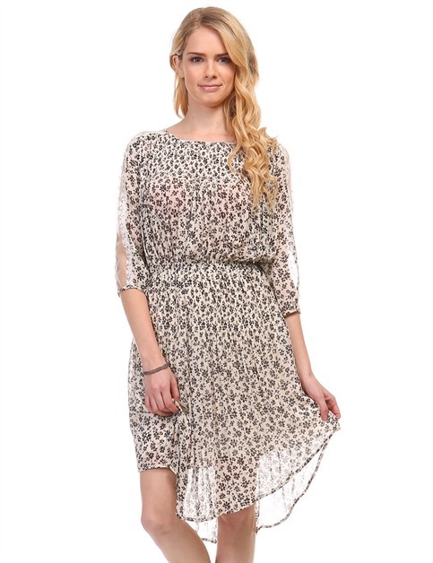 ESTELLE FLORAL DRESS - orangeshine.com