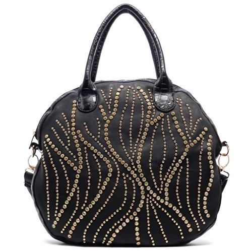 Rhinestone Studded Bag - orangeshine.com