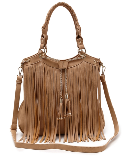 Fringed Tote Bag - orangeshine.com