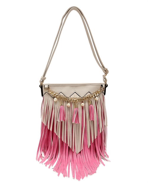 Fringed Cross Body - orangeshine.com